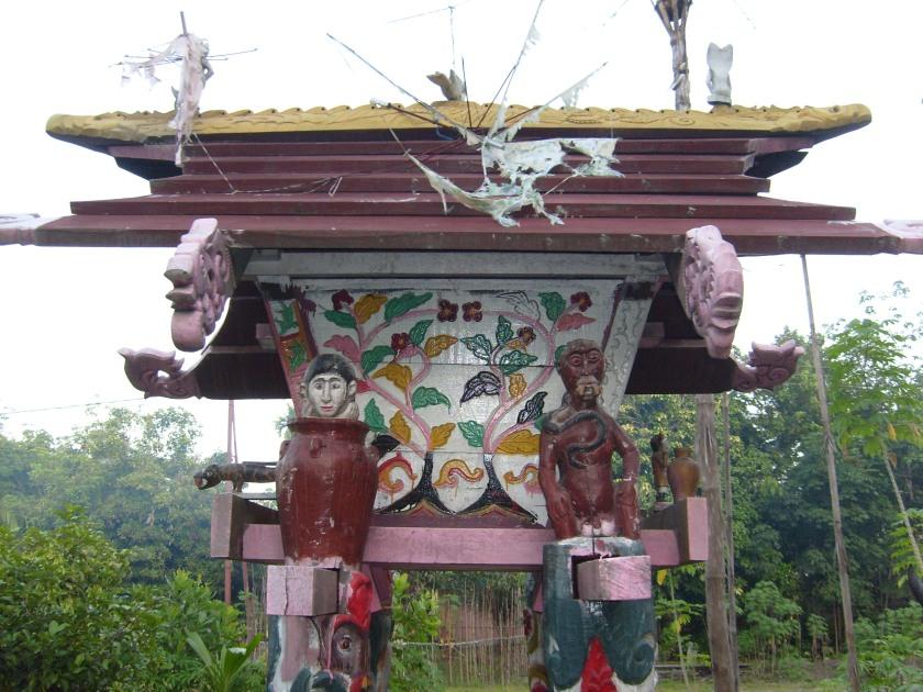 ritual suku dayak kalimantan